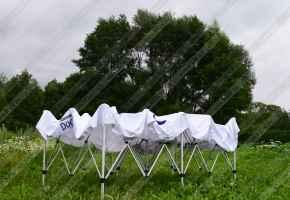 быстросборные шатры гармошки