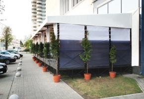 Летние кафе и рестораны с террасами