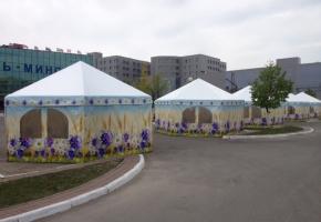 торгово выставочные палатки под ключ