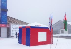 тренерская судейская палатка