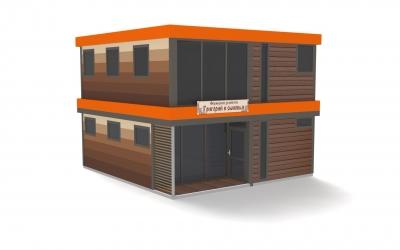Модульные здания типового проекта
