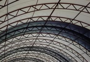 Готовые ангары с полукруглой крышей